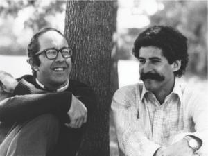 John (right) with Henri Nouwen